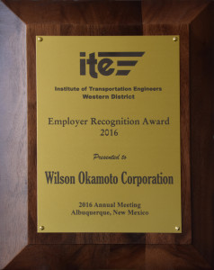 2016 ITE Employer Recognition